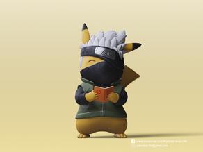 Pikachu X Kakashi (Pokemon/Naruto)