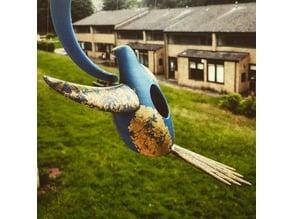 Tensegrity Bird House/Feeder