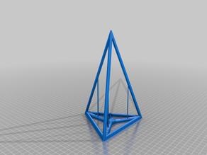 Niveau pyramide pendulaire