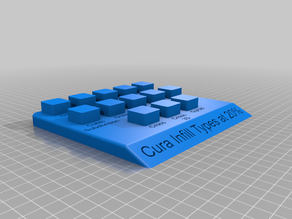 Cura Infill Display