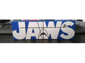 Jaws Bookends