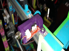 8mm Frame or 2020 Bowden Inlet with Filament Sensor