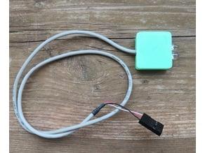 Case for IR-transmitter PCB0100