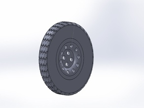 1:10 scale rim (13inch) and tyre (rally Spec cross-ply)