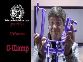 3D Printed C Clamp (G-Clamp)