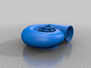 Francis turbine complete - Spiral hydro turbine complet