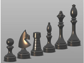 Garden chess set for tiles 20x20cm