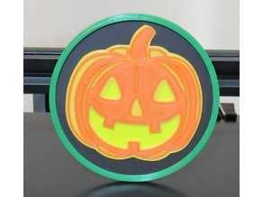 Halloween Pumpkin Coaster
