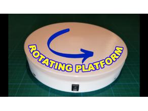 Rotating Platform: Arduino meets 3D Printing | Stepper Motor 28BYJ-48 + ULN2003