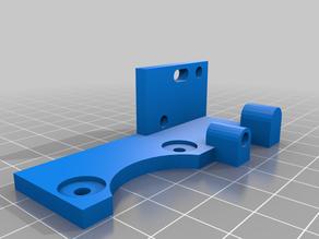 Chain + radial fan holder for K40