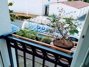 Flowerpot holder / Porte pot de fleur