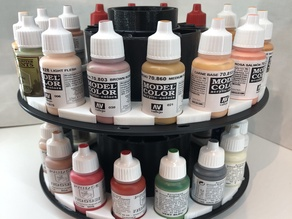 Rack peinture Vallejo/Army Painter / recyclage bobine filament
