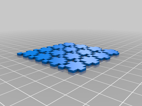 interlocking puzzle pieces for pixel art by retromatti.com