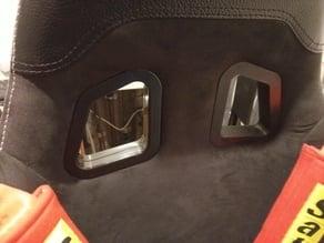 Playseat / raceseat  seat belt positioner - Schultergurtführung