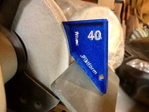 Grinder Angle Setup Jigs