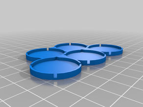 25mm movement tray for round and square bases