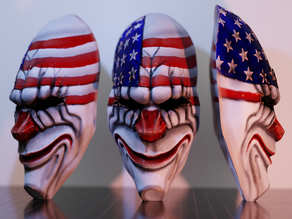 Payday 2 Dallas' Mask