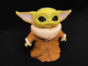 "The Child aka ""Baby Yoda"" (The Mandalorian) Multi-Colour Remix"