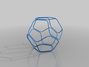Dodecahedron Single Line