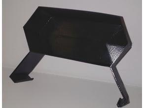 predator clip on tray - vase mode print