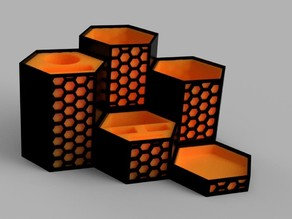 2nd Hexagonal Tool Organizer