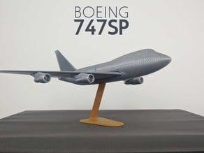 Boeing 747SP - 1:200