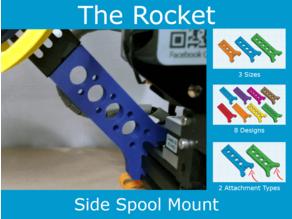 The Rocket - Side Spool Mount - Creality / Ender 3 Pro