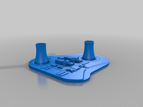 EDF Golfech Nuclear Powerplant - France