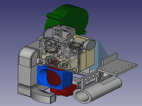 CL-260: Carrier and Fan Assembly for E3D's Titan Extruder