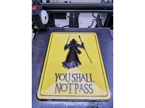 Shall not Pass sign
