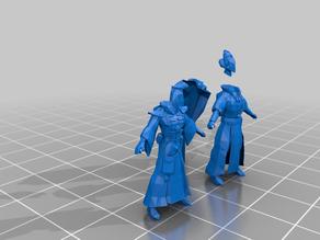 exodite warlock - eldar - tm