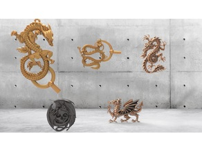 Dragons for CNC pack