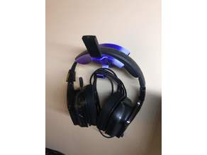 Headphone Support - Hanger with USB - Wall Mount