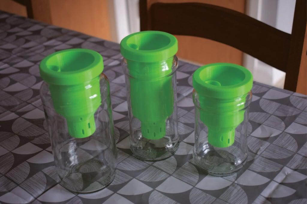 Green Jar Planter