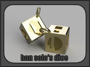 Han solo's dice (Star wars)
