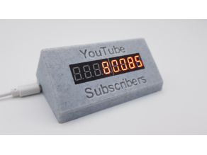 YouTube Subscribe Counter