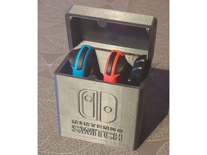 Switch Joycon Box (with embedded Magnets)