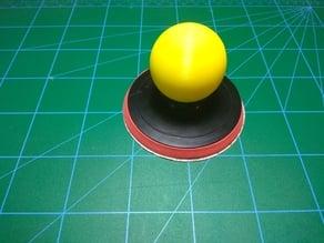 angle grinder sanding pad handle