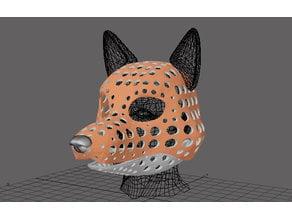 Fursuit- or puppet-head base - version 81 - Legoshi