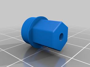 Outdoor trailer wheel hub for 3dSets Wheels
