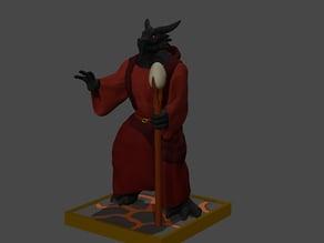 Dragon Warlock Wizard Sorcerer Magician