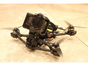 Catalyst Machineworks Shocker Tank DJI FPV Cam and HERO 9 mounts