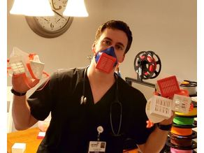 COVID Pandemic Mask - Fight the Hospital PPE Shortage
