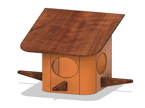 Birds House for wall