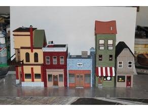 Small Town USA - Diorama