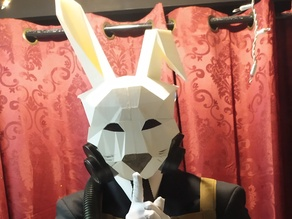 Low Poly Rabbit Mask (Deceit)