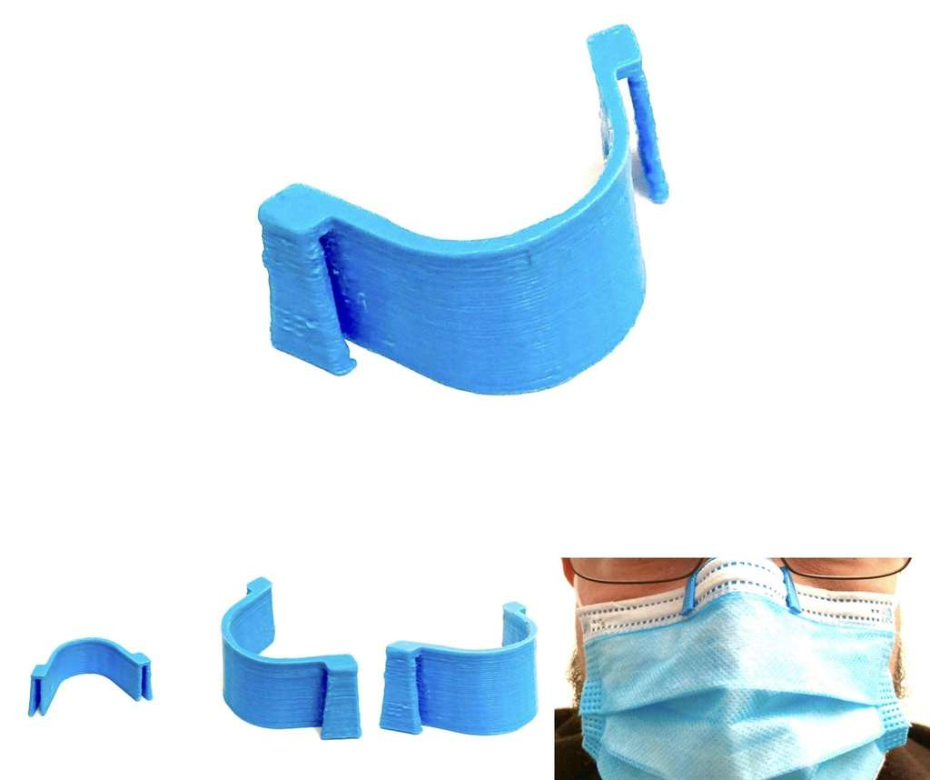 Anti-Fog Nose Clip for Mask