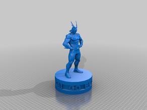 all might on a base