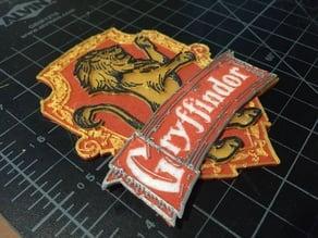 Gryffindor Badge (printed)