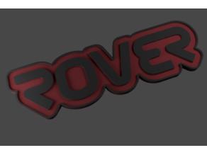 ROVER Badge (NASA Style Font)